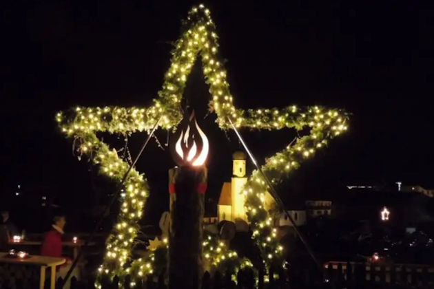 Impressionen vom Adventsmarkt der Sinne in Wallgau