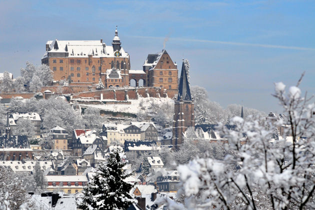 Winterliches Marburg