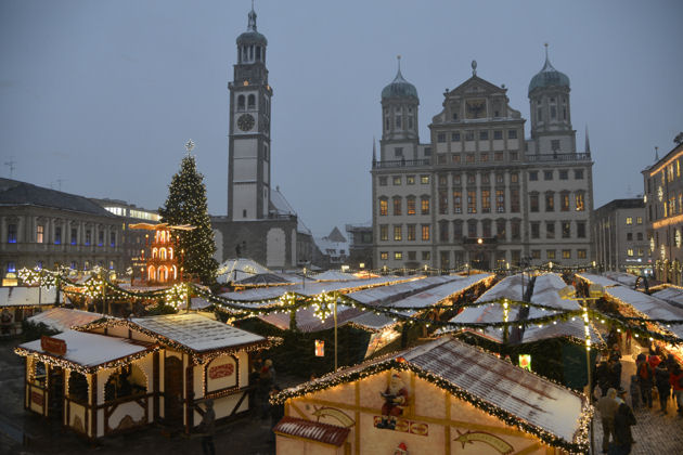 christkindlesmarkt in augsburg. Black Bedroom Furniture Sets. Home Design Ideas