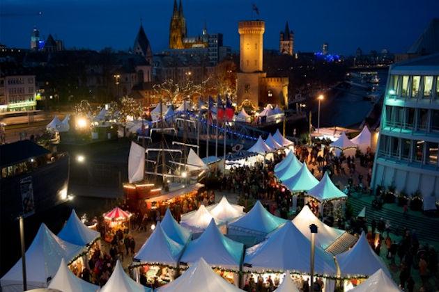 öffnungszeiten Kölner Weihnachtsmarkt.Hafen Weihnachtsmarkt Am Schokoladenmuseum In Köln