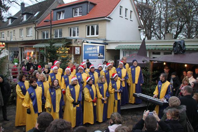 Weihnachtsmarkt Schmuggelstieg