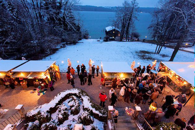 Hotel La Villa Starnberg Weihnachtsmarkt