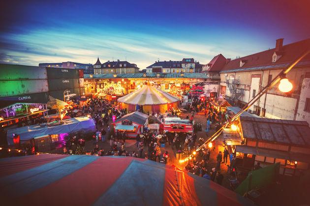München Weihnachtsmarkt.Märchenbazar Weihnachtsmarkt Auf Dem Viehhof In München 2019