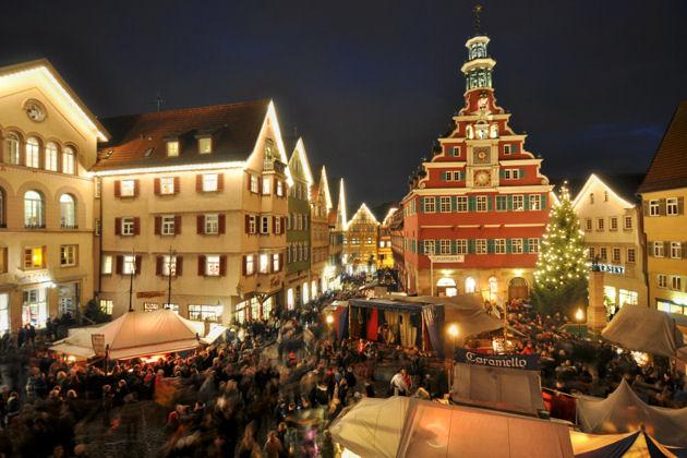 Eindrücke vom Mittelaltermarkt und Weihnachtsmarkt in Esslingen