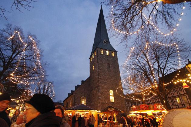 Nostalgischer Weihnachtsmarkt In Hattingen 2019