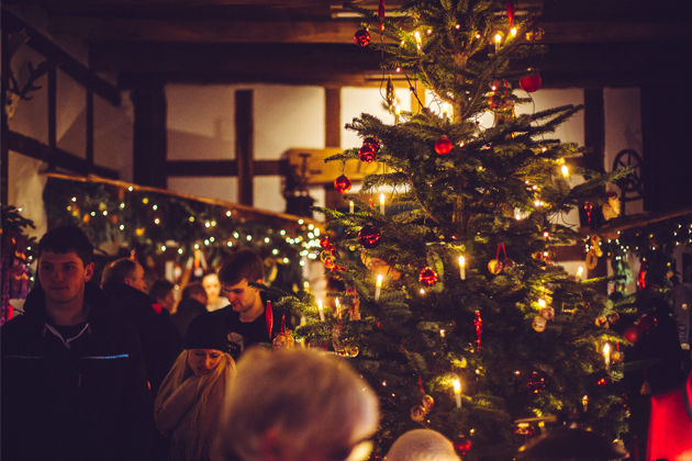 Impressionen Tannenbaum.Weihnachtlicher Hofmarkt Auf Dem Hof Driehaus In Ostercappeln
