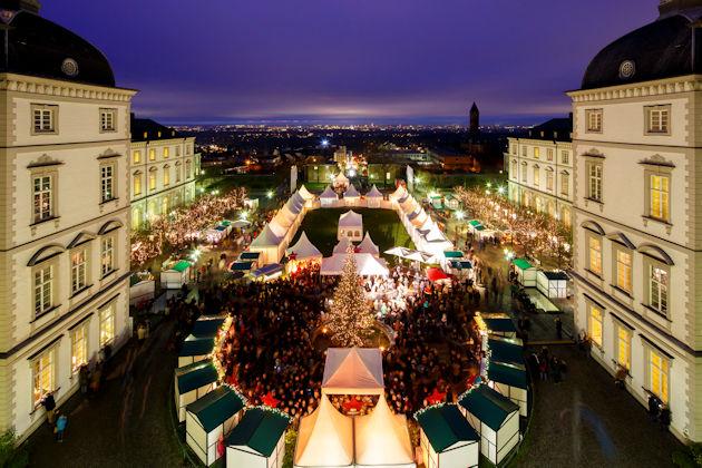 Bildergebnis für Schloss Bensberg Weihnachtsmarkt