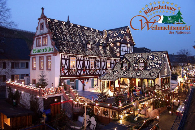 weihnachtsmarkt der nationen in r desheim am rhein 2018. Black Bedroom Furniture Sets. Home Design Ideas
