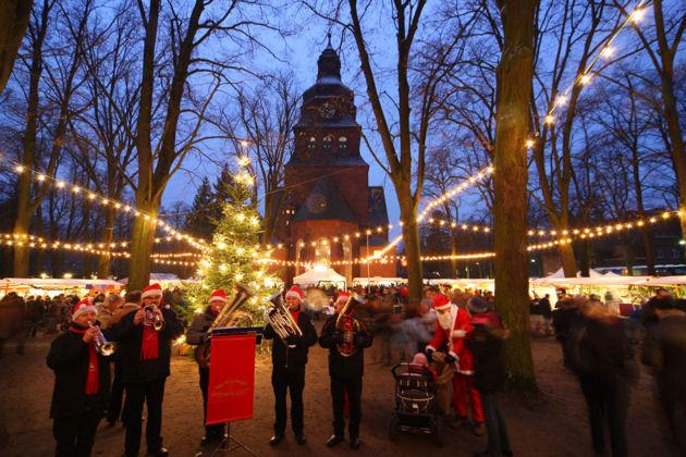 Weihnachtsmarkt Berlin 2019.Weihnachtsmarkt Im Evangelischen Johannesstift Berlin 2019