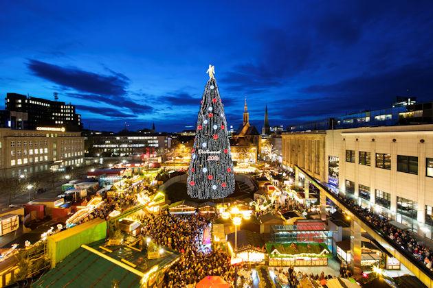Dortmunder Weihnachtsmarkt Stände.Weihnachtsmarkt In Dortmund 2019