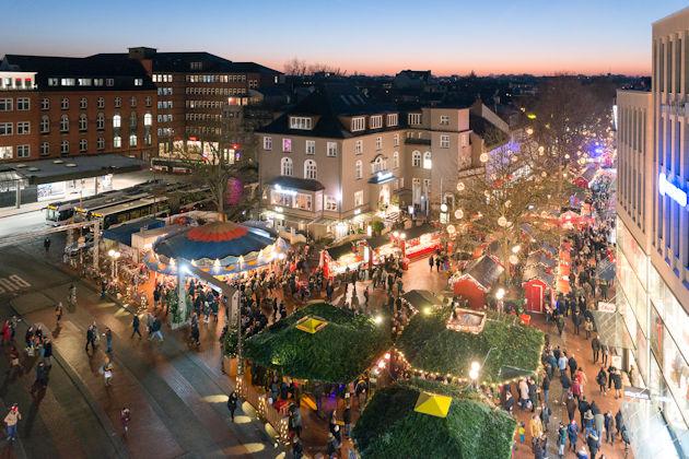 Weihnachtsmarkt Eröffnung Hamburg.Weihnachtsmarkt In Hamburg Ottensen 2019