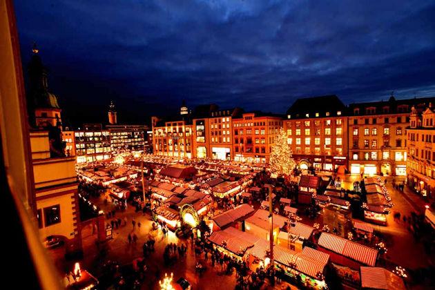 Weihnachtsmarkt Leipzig.Weihnachtsmarkt In Leipzig