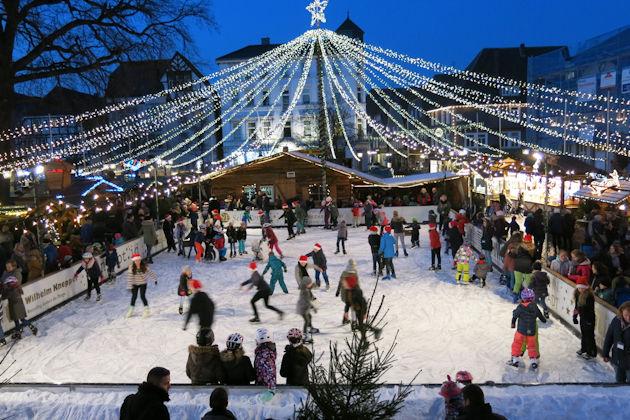 Schlittschuhlaufen Berlin Weihnachtsmarkt.Weihnachtsmarkt In Lippstadt