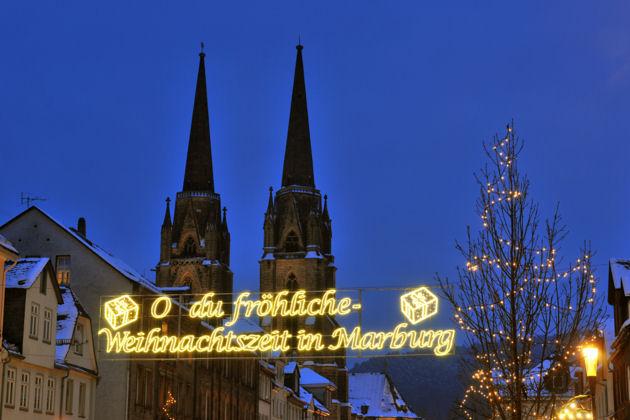 Marburg Weihnachtsmarkt