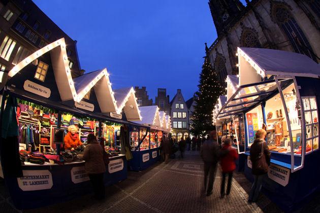Weihnachtsmarkt Muenster