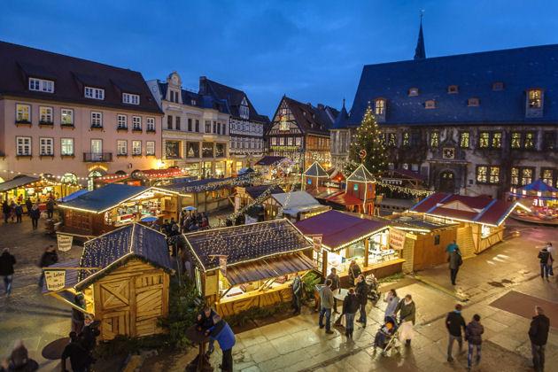 Weihnachtsmarkt Eröffnung 2019.Weihnachtsmarkt In Quedlinburg 2019