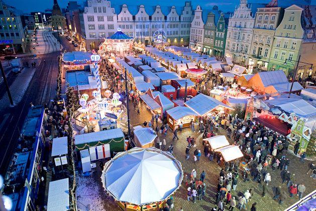 Weihnachtsmarkt in Rostock 2018